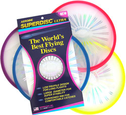 Frisbee, Flying disc